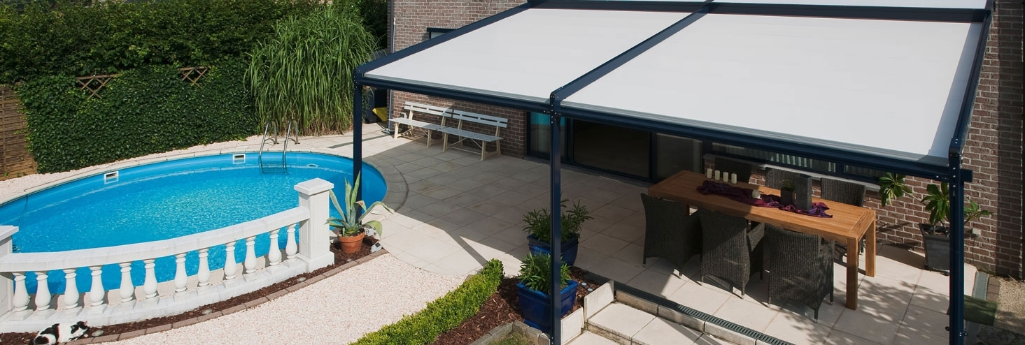 Verandadaken zijn eenvoudig en doeltreffend terrassen en verhardingen worden fraaie veranda 39 s - Terras beschut ...